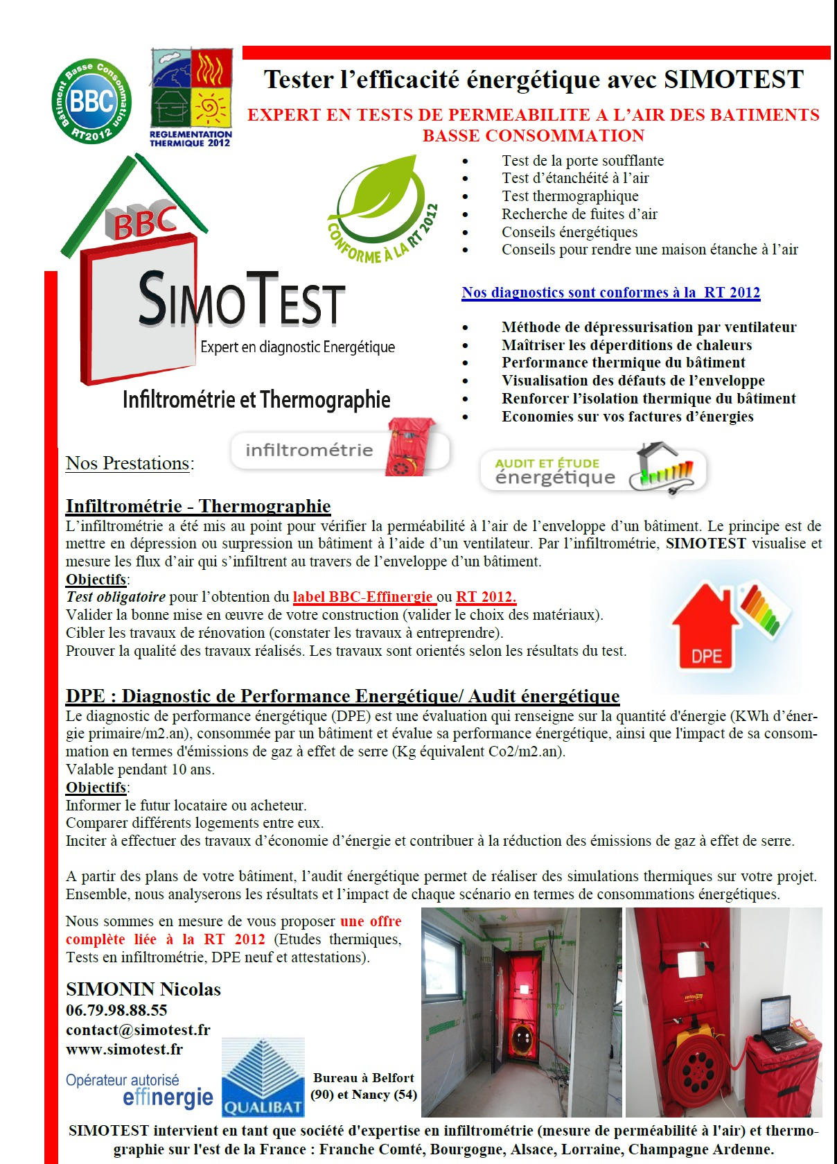 Documentation simotest